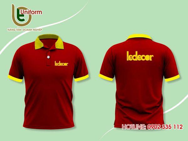 áo đồng phục công ty Ledecor