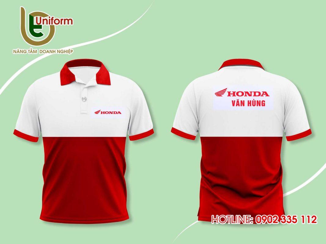 áo thun đồng phục công ty Honda