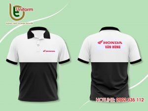 áo đồng phục công ty HonDa