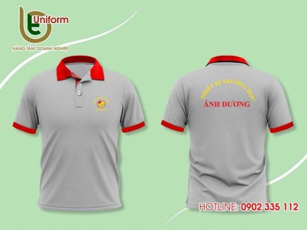 Áo đồng phục công nhân công ty Ánh Dương