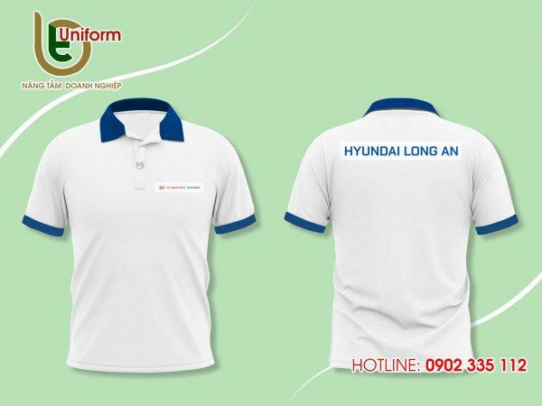 áo đồng phục Huyndai