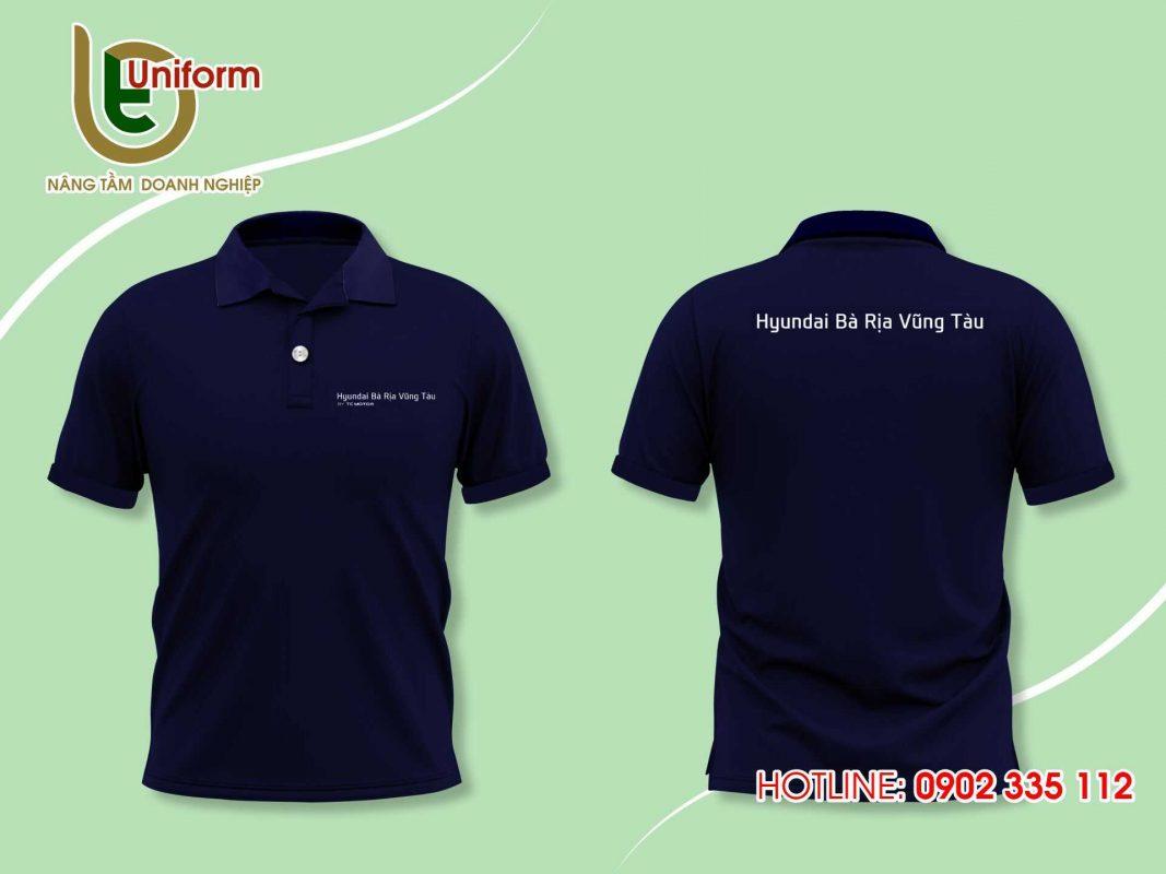 áo đồng phục công ty Huyndai