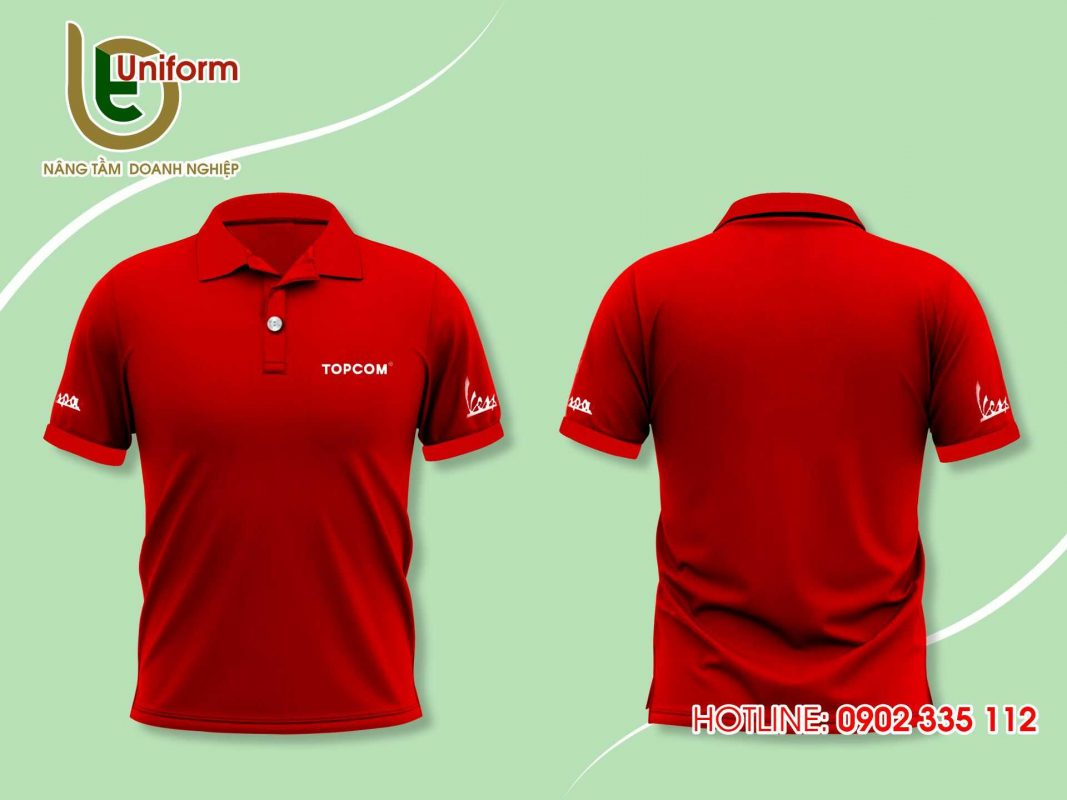 áo thun đồng phục công ty Vespa
