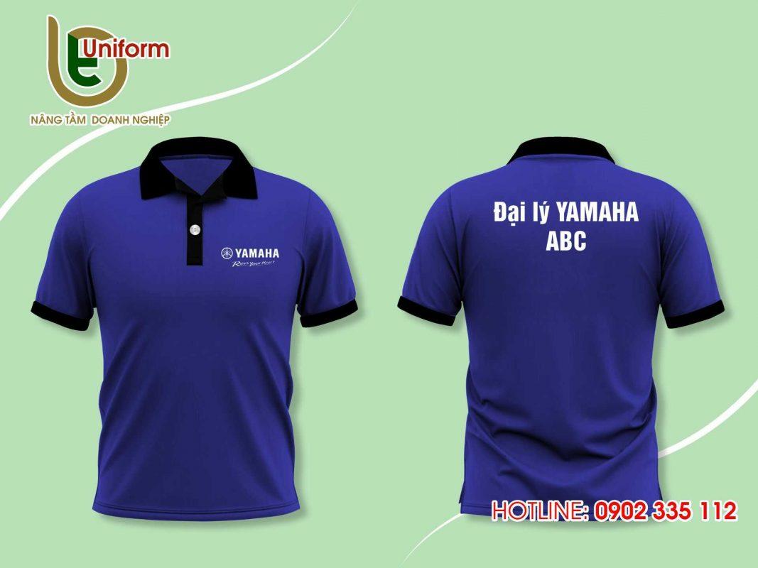 áo đồng phục công ty Yamaha