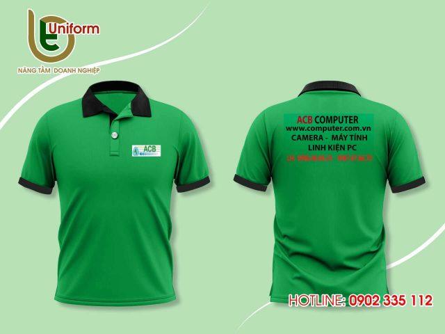 Áo đồng phục công ty ACB Computer