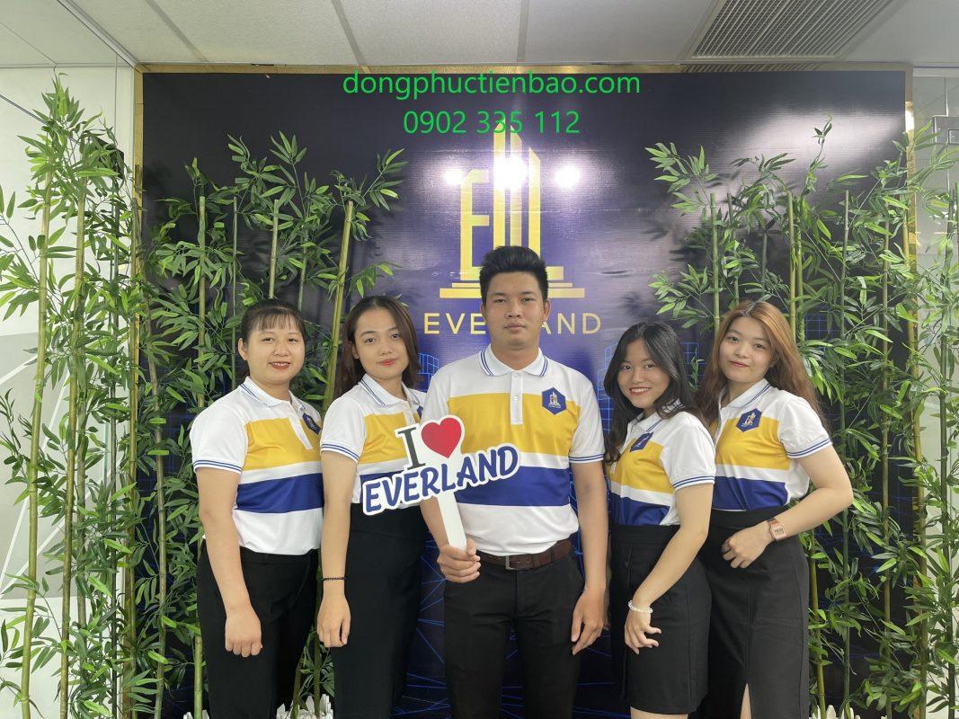 Áo đồng phục công ty Everland