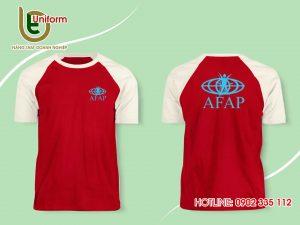 áo raglan màu đỏ