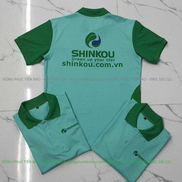 áo thun đồng phục Shinkou