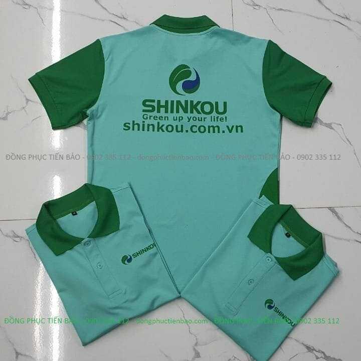 Áo thun đồng phục công ty Shinkou