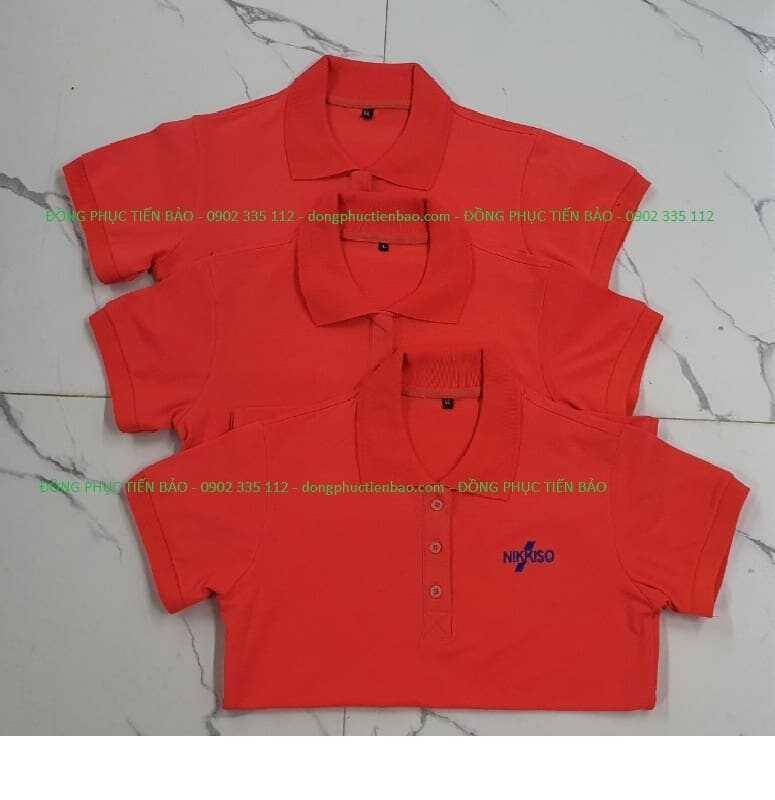 áo đồng phục công nhân cty Nikko