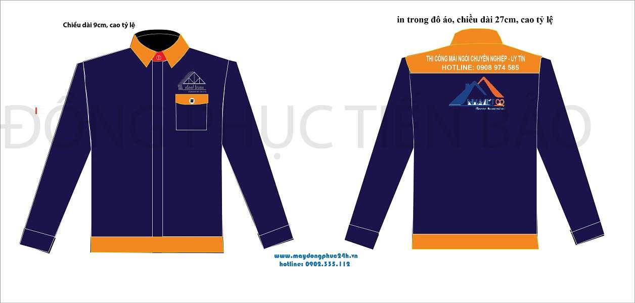 Thiết kế áo đồng phục bảo hộ lao động