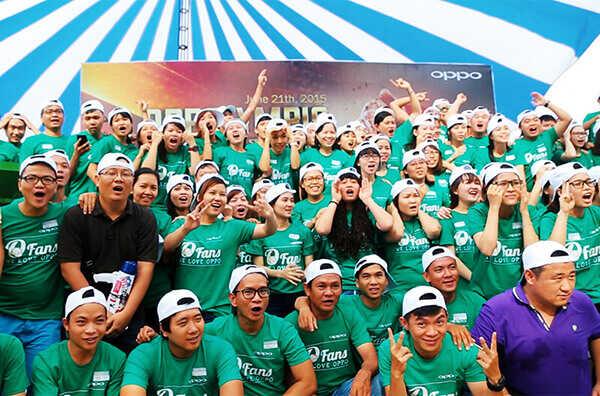 áo thun sự kiện công ty tập đoàn Oppo