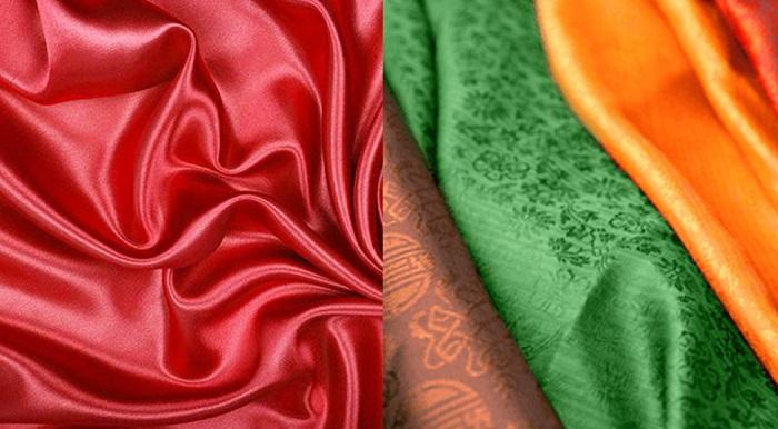 Các loại vải lụa