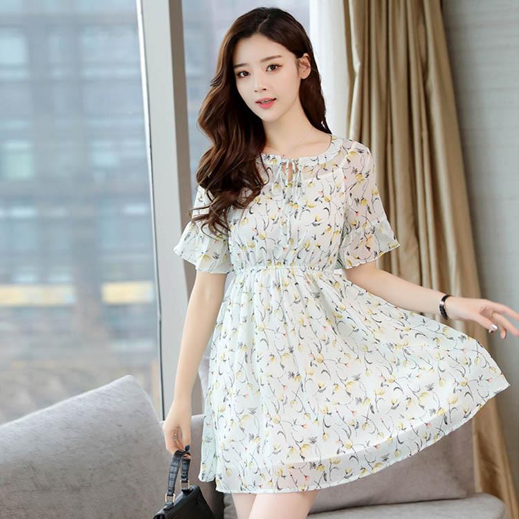 Đầm vải chiffon