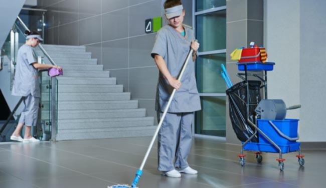 Đồng phục công nhân vệ sinh bệnh viện