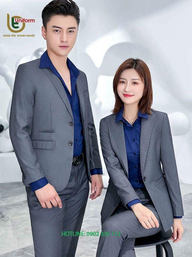 đồng phục vest văn phòng