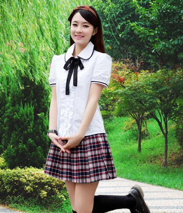 May đồng phục học sinh cấp 3 kiểu Việt Nam