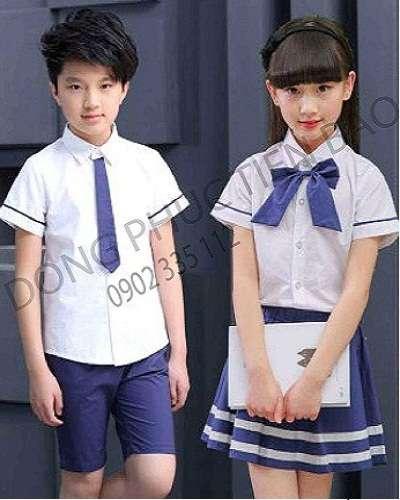 Mẫu áo thun học sinh tiểu học