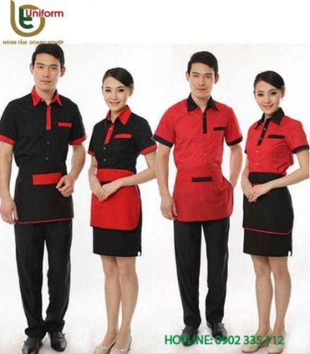 đồng phục quán cafe 2