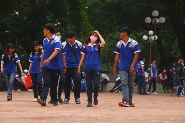 đồng phục thể dục sinh viên trường Đại Học Văn Hiến tphcm