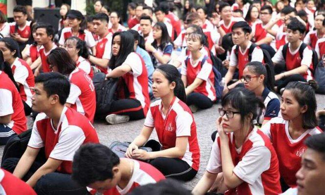 đồng phục thể dục sinh viên trường Đại Học UEF tphcm