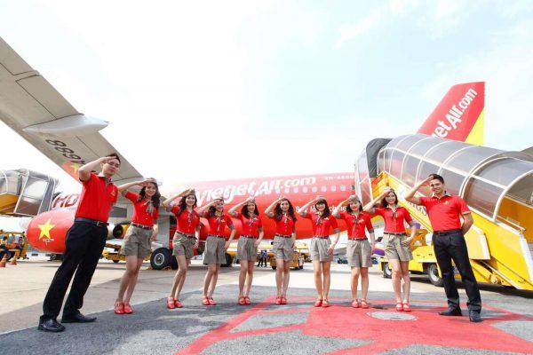 Đồng phục tiếp viên hàng không Việt Nam