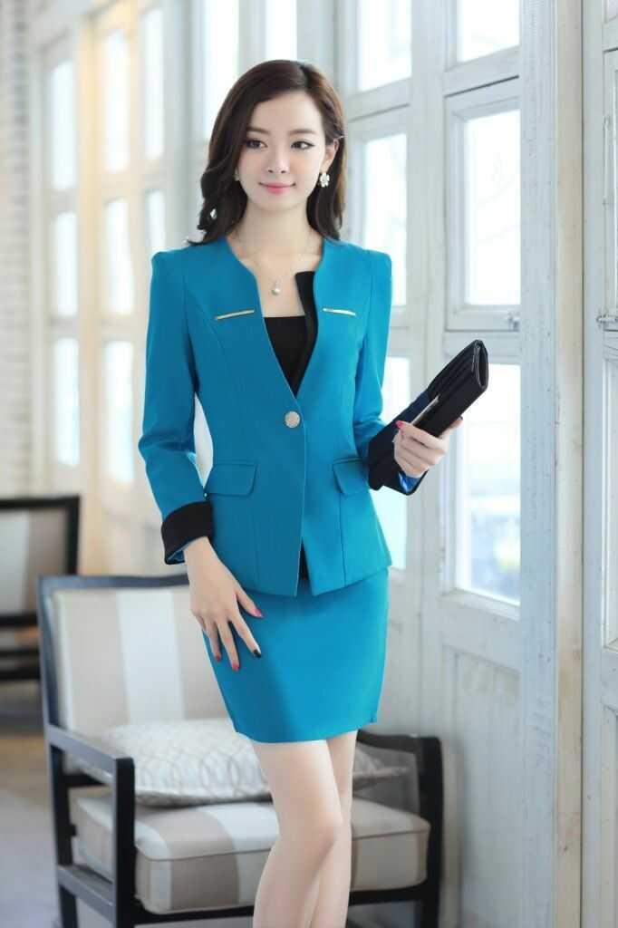 Mẫu đồng phục vest nữ