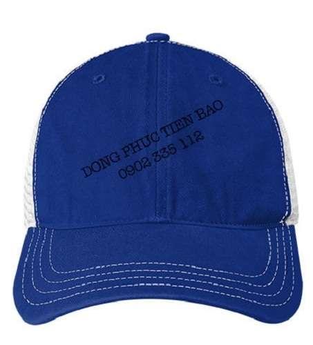 Mũ lưỡi trai nón đồng phục màu xanh