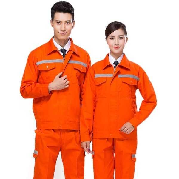 Mẫu đồng phục bảo hộ công nhân điện tại Đồng Phục Tiến Bảo.