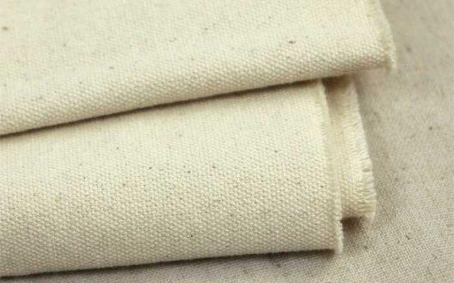 vải canvas may tạp dề