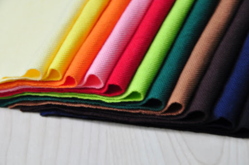 Vải cotton pha polyester