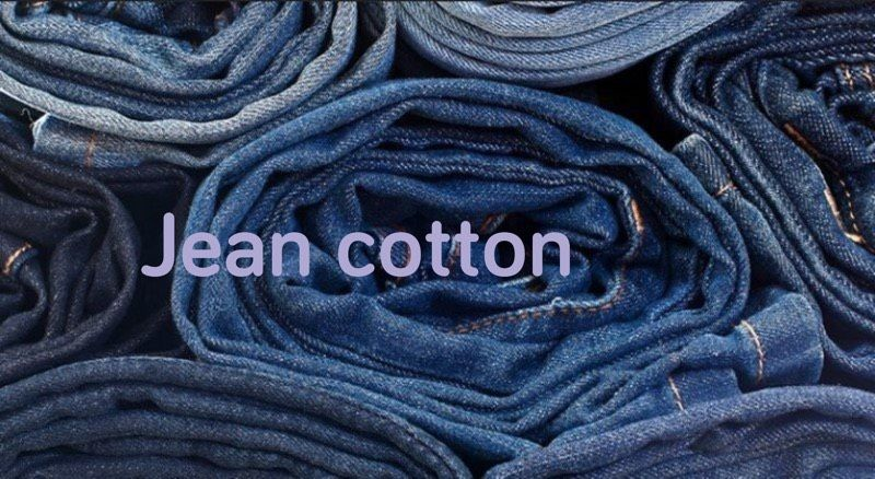 Vải jean cotton