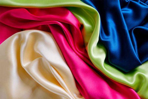 bảng màu vải lụa
