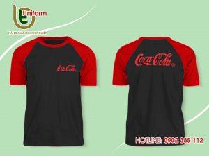 áo raglan Cocacola